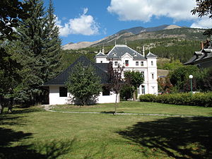 Barcelonnette - A maison mexicaine in Barcelonnette