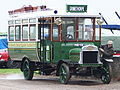 Barnsley & District ET bus 5 (HE 12), 1913 Leyland S3 Brush, Crystal Palace Park, 6 May 2006 (01).jpg
