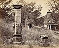 Baroli ruins of 10th century Durga Hindu temple, 1872 photo.jpg