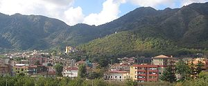 Baronissi - Panoramic view of Baronissi