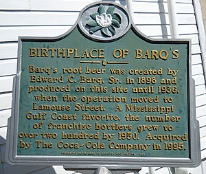 Barq's - Image: Barqs Sign