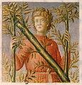 """Bartolomeo Sanvito - Portrait of Petrarch in the Incipit Letter """"N"""" - Google Art Project CUT.jpg"""