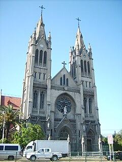 Nuestra Senora Del Perpetuo Socorro A Neo Gothic Basilic In Santiago Of Chile