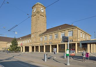 Basel Badischer Bahnhof - Image: Basel Badischer Bahnhof 1