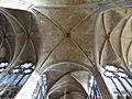 Basilique Saint-Denis - Voûte de la croisée du transept.JPG