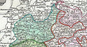 Prince-Bishopric of Basel - The Prince-Bishopric and the Canton of Basel
