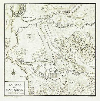 Invasion of Hanover (1757) - Battle of Hastenbeck