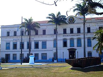 Santa Cruz, Rio de Janeiro - Headquarters of the Old Farm of the Royal and Imperial Santa Cruz Palace.