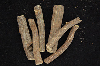 Liquorice - Dried sticks of liquorice root