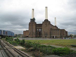 Interior architecture - Real Estate Opportunities were granted to redevelop the Battersea Power Station of England in November 2010
