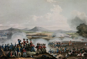 48th (Northamptonshire) Regiment of Foot - The Battle of Talavera, where the regiment carried out a bayonet charge and then broke the French attack in July 1809, by William Heath