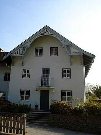 Riedering - A house in Rosenheim district.
