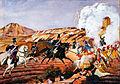 Bavarian lancers charge Greek rebels.jpg