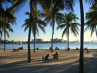 miami, florida beach, public domain