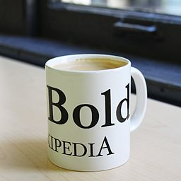 http://upload.wikimedia.org/wikipedia/commons/thumb/a/a2/Be_Bold_coffee_mug.jpg/256px-Be_Bold_coffee_mug.jpg