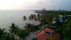 Kannur lighthouse - Image: Beautiful view from The top of Kannur Lighthouse, Kerala
