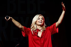 Bebe Rexha live at Staples Center, Los Angeles 07.jpg