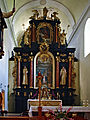 Beckov-autel Eglise monastère.jpg