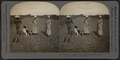 Beds of lettuce, young man with wheel hoe, girls with common hoes, near Buffalo, N.Y., U.S.A, from Robert N. Dennis collection of stereoscopic views.png