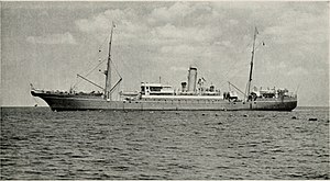 HMCS Chedabucto - Lord Kelvin, the vessel that rammed Chedabucto