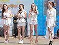 Bella (South Korean girl group) at the Incheon Festival, May 2013 01.jpg