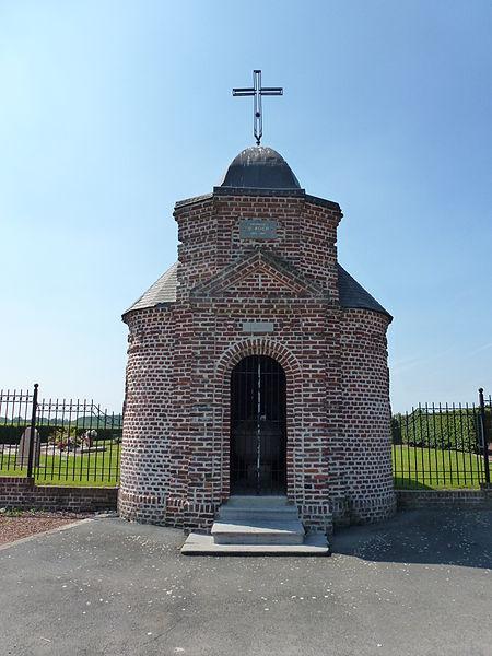 Bellaing (Nord, Fr) chapelle St.Roch