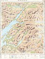 Ben Nevis and Glen Coe, One-inch Ordnance Survey Tourist Map, Published 1959.jpg