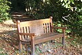Bench on the Greensand Way in Stubbs Wood - geograph.org.uk - 1549170.jpg
