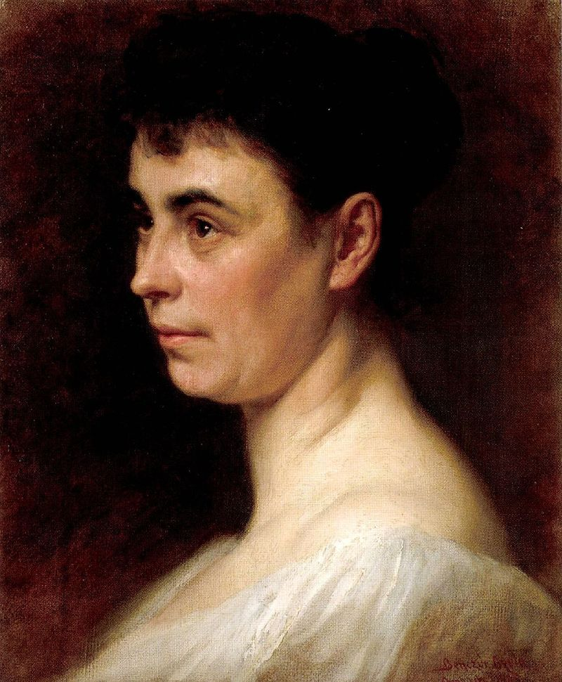 Бенчур Портрет второй жены художника 1893.jpg