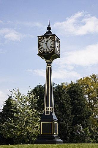 South Benfleet - Image: Benfleet Clock