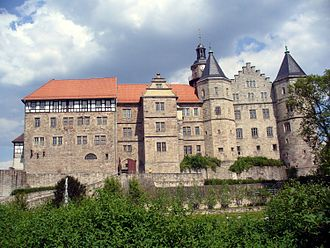 Schleusingen - Castle Bertholdsburg; built between 1223 and 1232