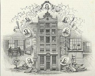 Frederik Muller - Image: Bibliopolium of Johannes Muller on the Rokin Amsterdam