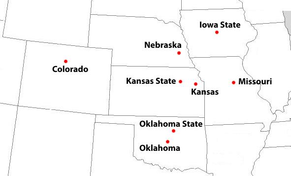 Big Eight cities