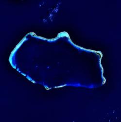Bikini atol coordinates