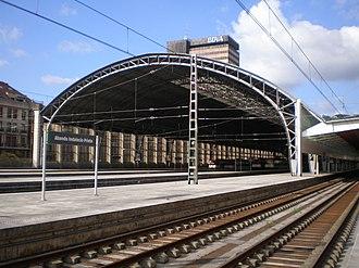 Cercanías Bilbao - Bilbao-Abando railway station.