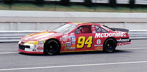 Bill Elliott - 1997 racecar