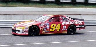 Bill Elliott - 1997 racecar
