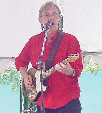 Bill Kirchen - Kirchen with his original Telecaster in Shirlington, Virginia (2003)