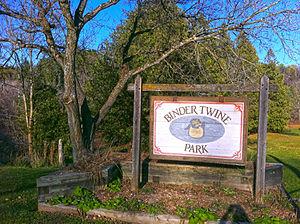 Binder Twine Festival - Binder Twine Park in Kleinburg