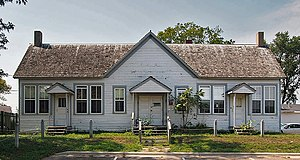 National Register of Historic Places listings in Redwood County, Minnesota - Image: Birch Coulee School