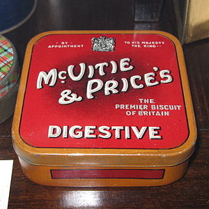 Gorgie - McVitie & Price's digestive biscuit tin box