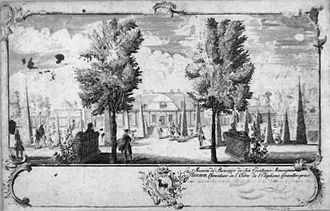 Blågård - Blågård c. 1745