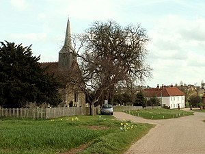 Black Notley - Image: Black Notley church and Hall, Essex geograph.org.uk 153768