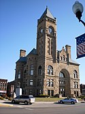 Blackford County Courthouse SW corner Hartford City IN.JPG