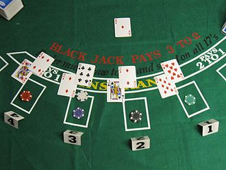 Blackjack - Initial deal