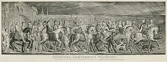 The Pardoner's Tale - Image: Blake Canterbury Pilgrims engraving