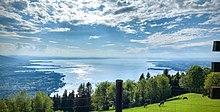Blick vom Pfänder auf den Obersee
