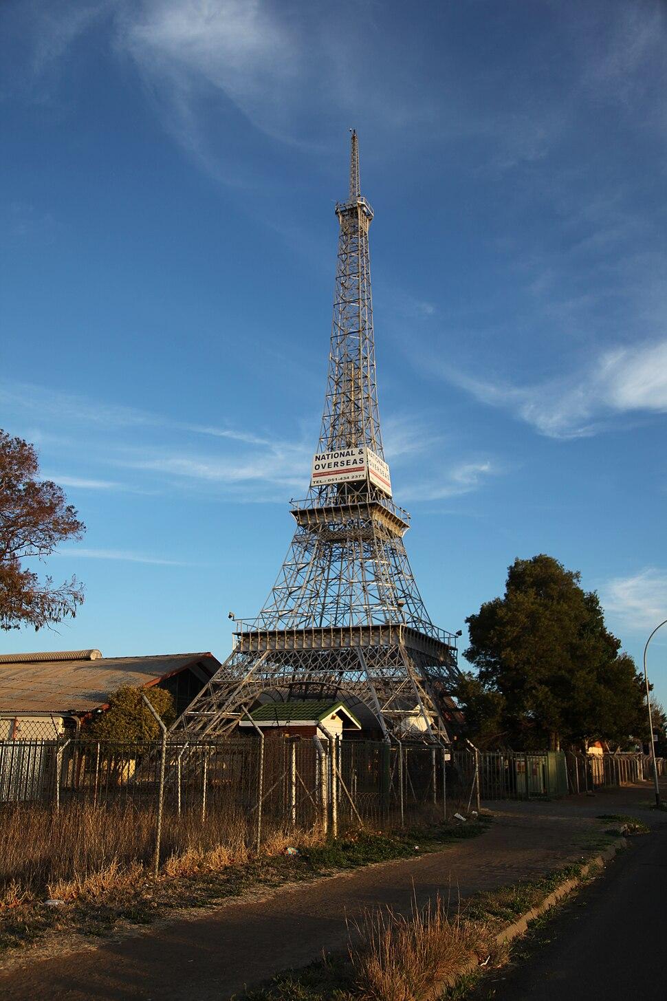 Bloemfontein-Eiffel Tower-001