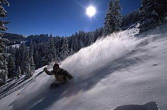 Vail, Colorado - Blue Sky Basin in Vail Ski Resort.