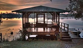 Meher Spiritual Center - Image: Boat House Meher Center